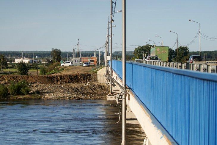 Река Ия в Тулуне. Фото пресс-службы правительства Иркутской области