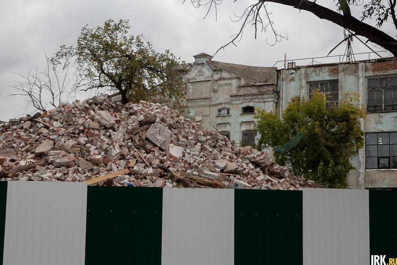 Снос бань в 2018 году. Фото Анастасии Влади
