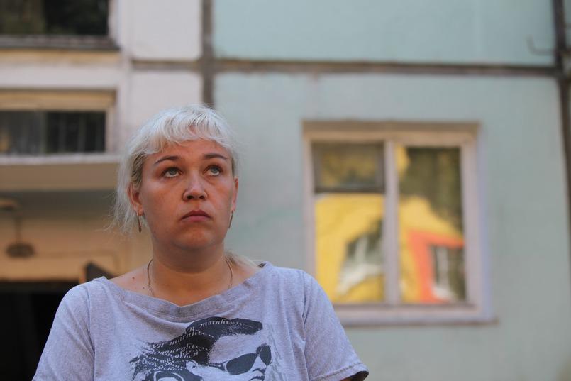 Татьяна не сразу смогла попасть в подъезд, где горела квартира