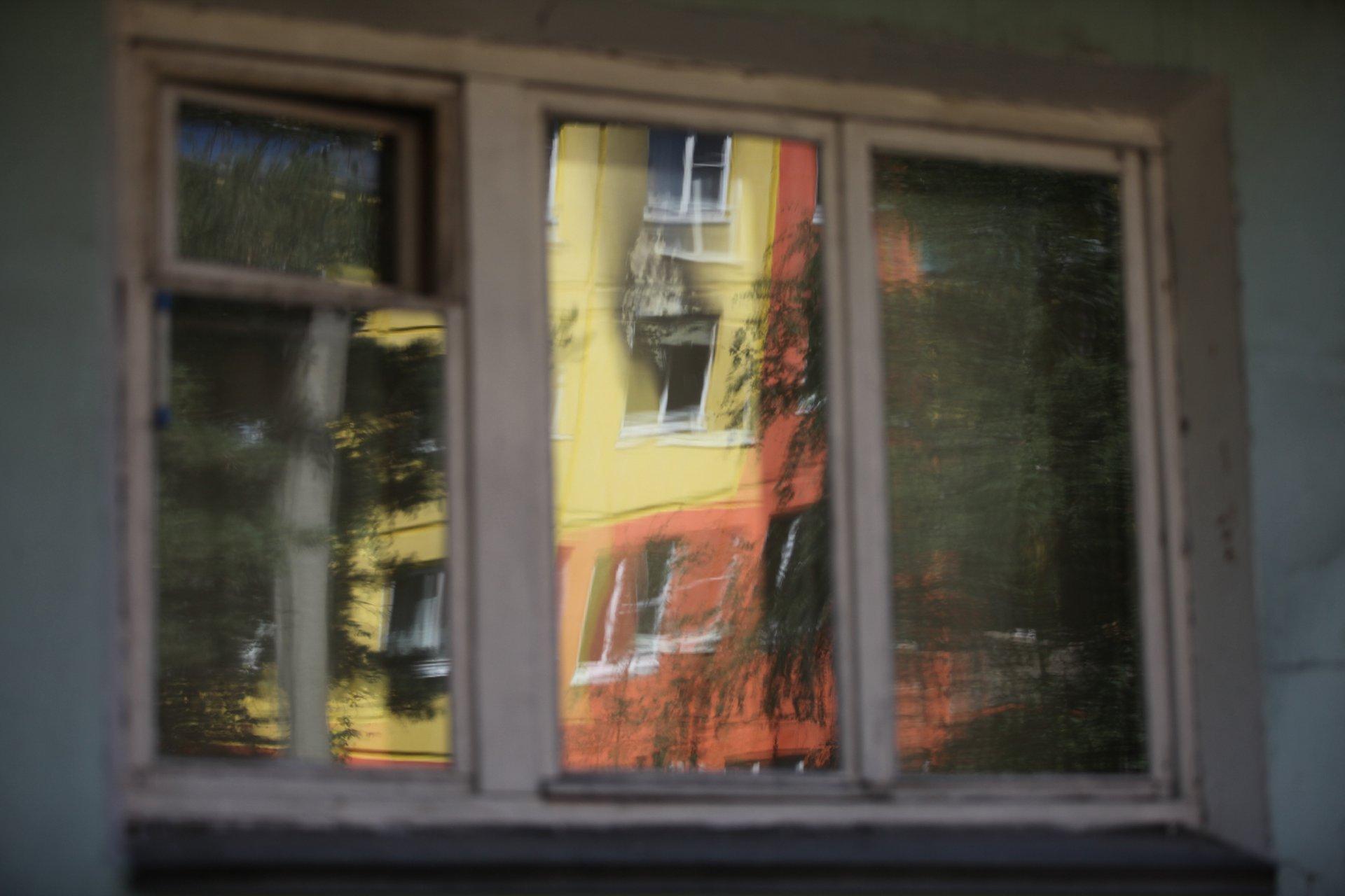 Из окна своей квартиры Татьяна увидела дым в соседнем доме