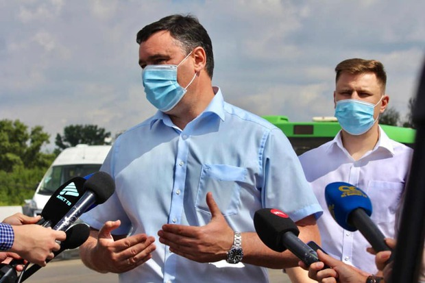 Руслан Болотов и Дмитрий Ружников. Фото пресс-службы администрации Иркутска
