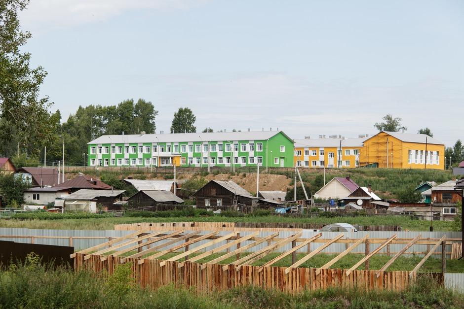 В Карлуке отремонтирована школа. Работы велись шесть месяцев.