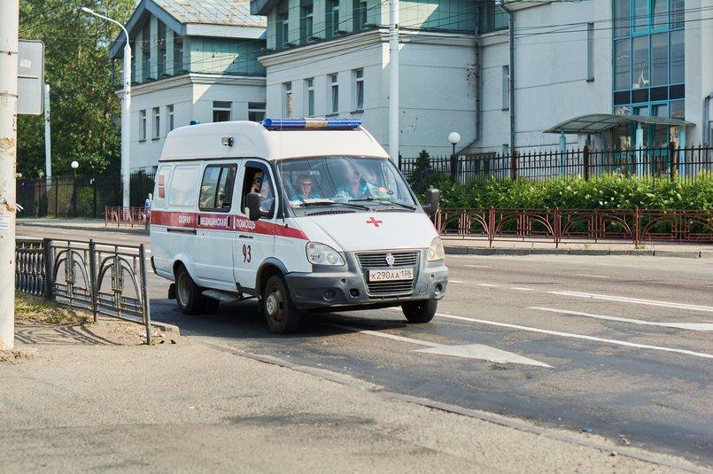 Татьяну увезли на скорой в госпиталь на Синюшке