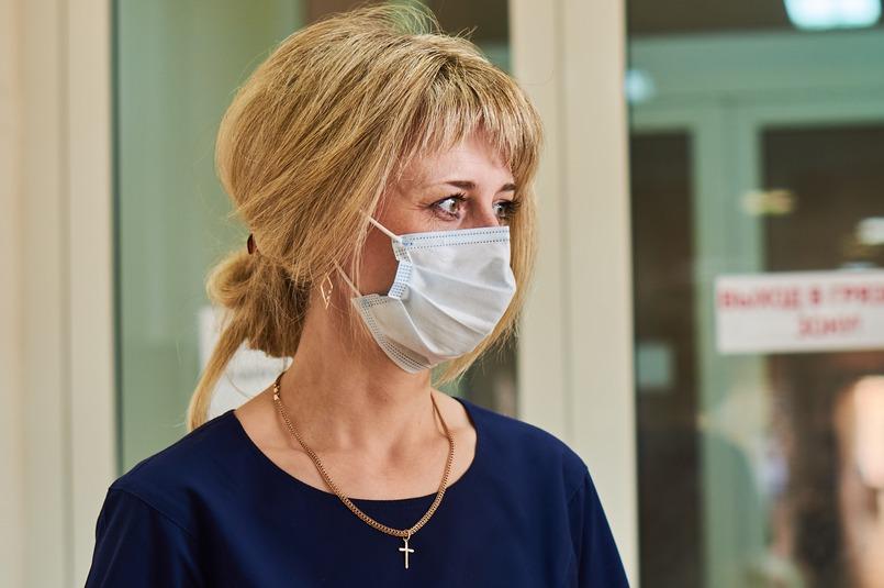 Татьяна Илларионова руководит терапевтическим блоком инфекционного госпиталя в ГКБ №1