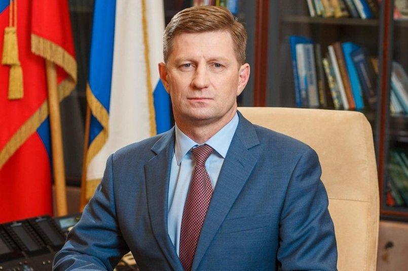 Сергей Фургал. Фото пресс-службы губернатора Хабаровского края