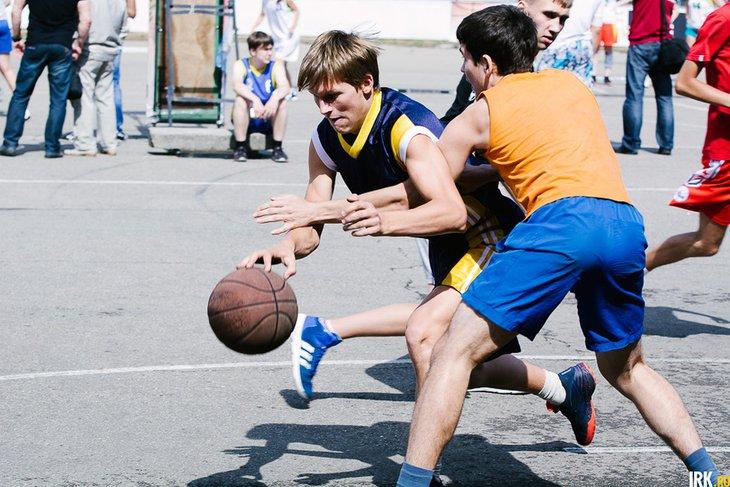 Соревнования «Оранжевый мяч». Фото Никиты Пяткова