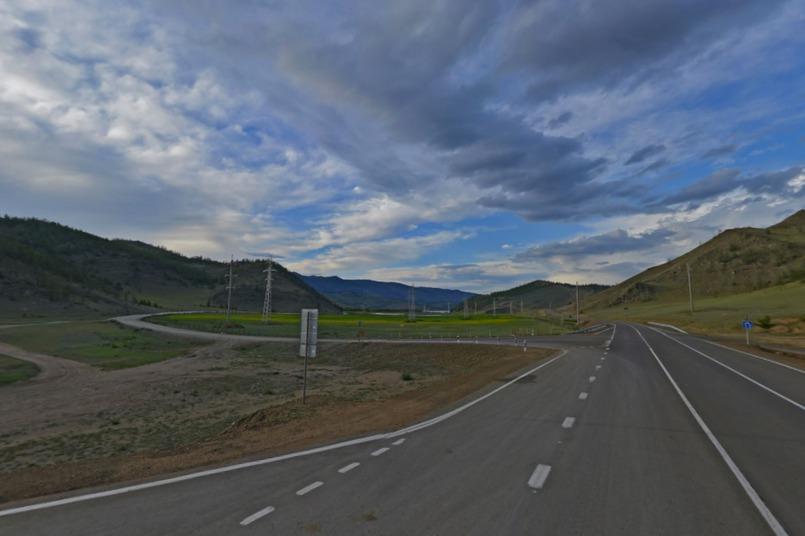 Поворот к поселку Черноруд