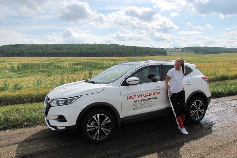 В путешествие я отправилась на новом Qashqai от Nissan
