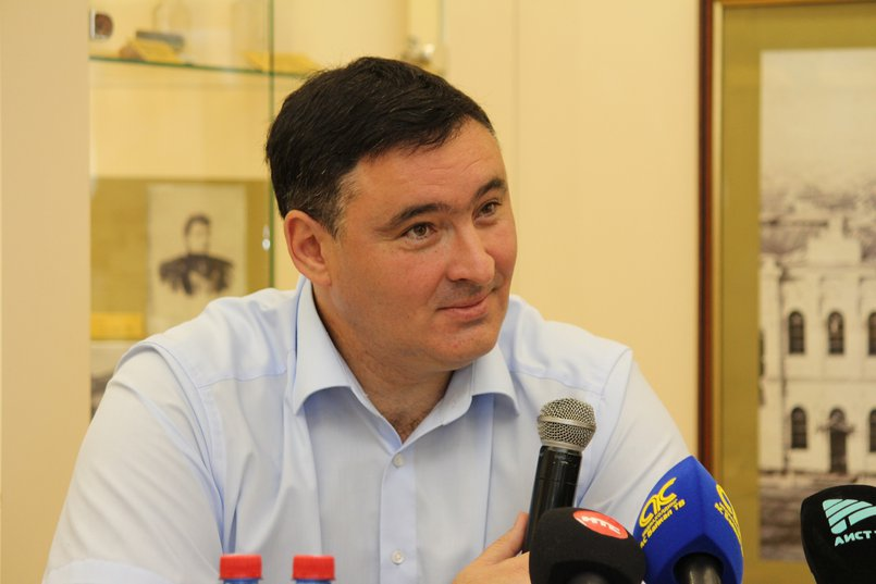 Руслан Болотов, мэр Иркутска. Автор фото — Дарья Тараканова