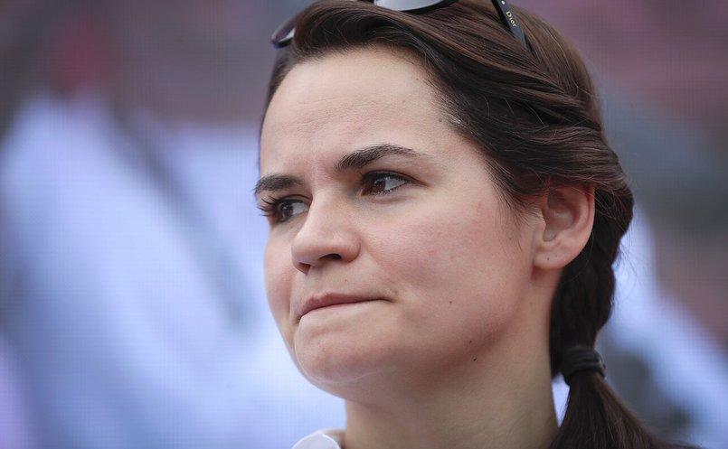 Светлана Тихановская. Фотография с сайта www.lrt.lt