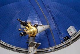 Наблюдения Солнца и планет в астрономической обсерватории Иркутского планетария