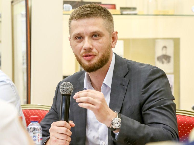 Евгений Стекачев, председатель городской думы