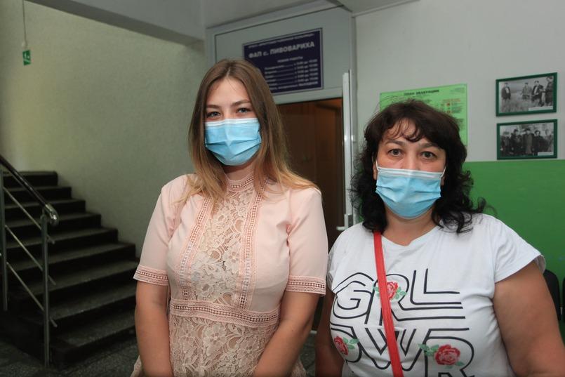 Наталья с дочерью Кристиной