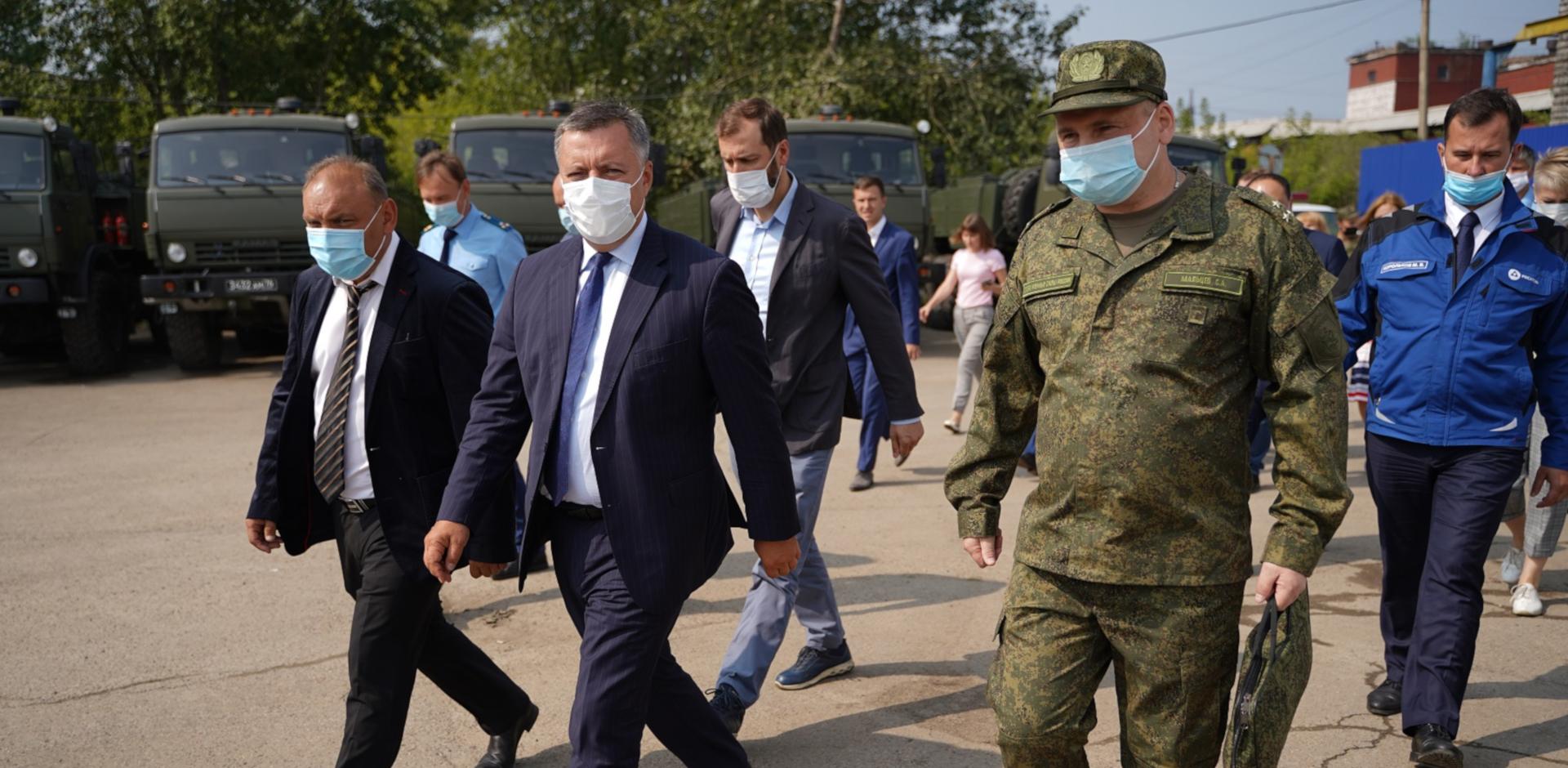Игорь Кобзев провел первое заседание единого штаба по решению вопросов по ликвидации накопленного вреда окружающей среде в результате деятельности химических предприятий «Усольехимпром»