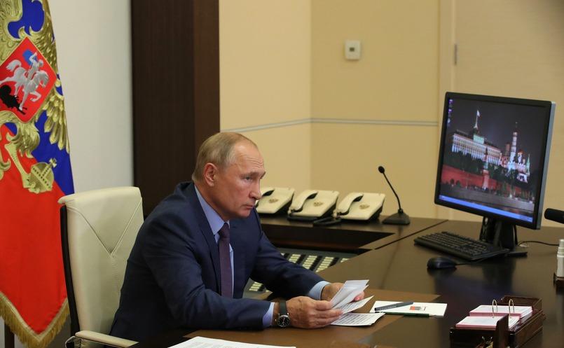 Владимир Путин провёл в режиме видеоконференции совещание по вопросам ликвидации последствий паводка в Иркутской области