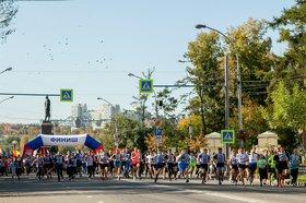 День бега в 2019 году. Фото Анастасии Влади, IRK.ru
