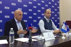 Сергей Сокол и Дмитрий Мясников. Фото Анастасии Марковой, IRK.ru