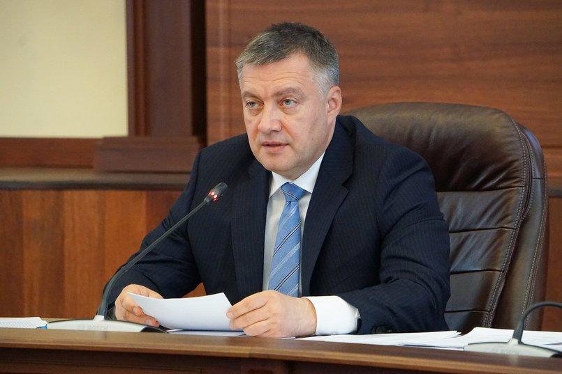 Игорь Кобзев, губернатор Иркутской области