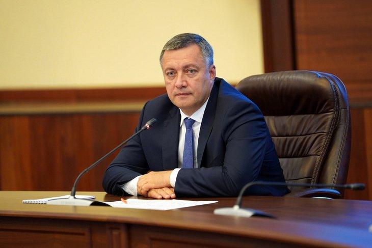 Игорь Кобзев. Фото с сайта правительства Иркутской области