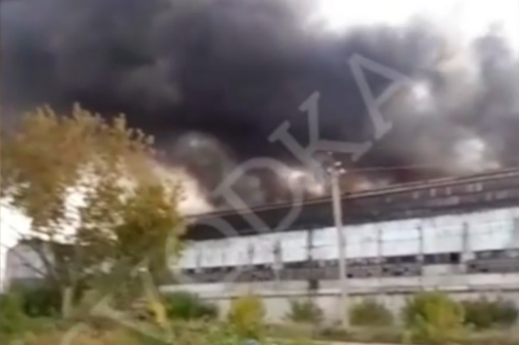 Фрагмент видео @svodka38