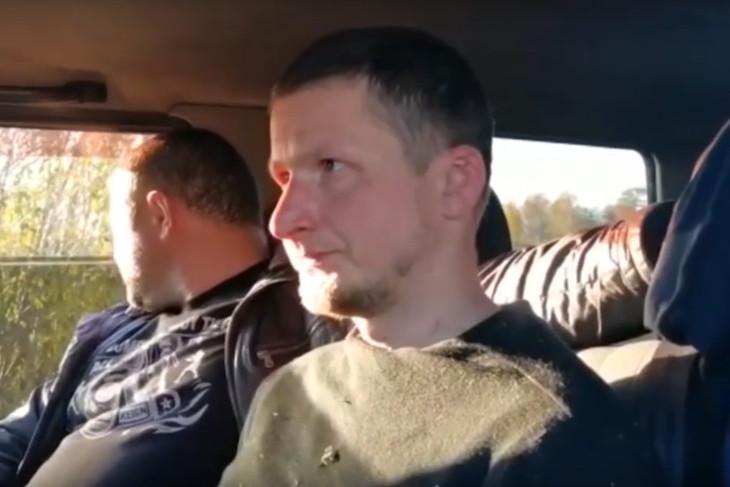 Сергей Устюгов. Фрагмент видео МВД России
