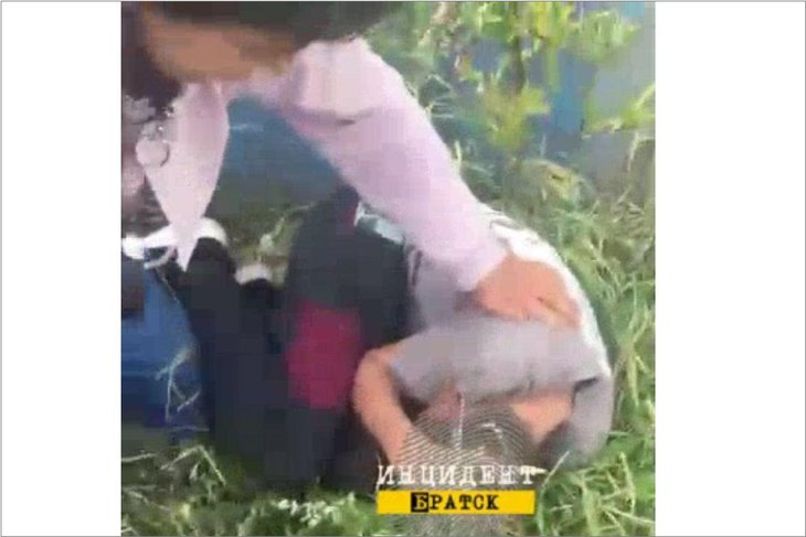 Скриншот видео из группы «ИнцидентБратск»