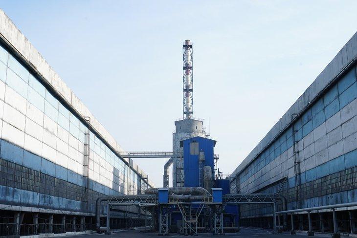 Новая 2-ступенчатая газоочистная установка на БрАЗе. Фото из архива предприятия