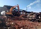 На территории «Усольехимпрома». Фото пресс-службы правительства Иркутской области