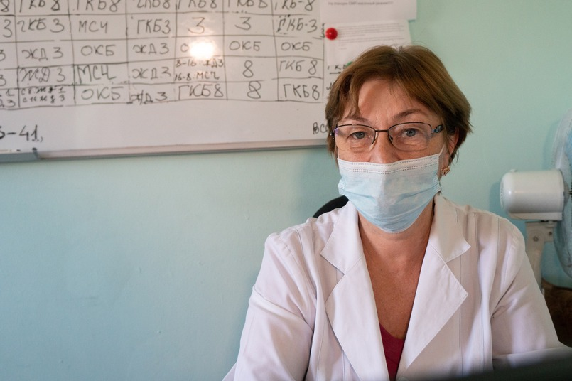 Ирина Каренчук, диспетчер по приему вызовов