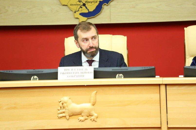 Спикер Заксобрания Александр Ведерников