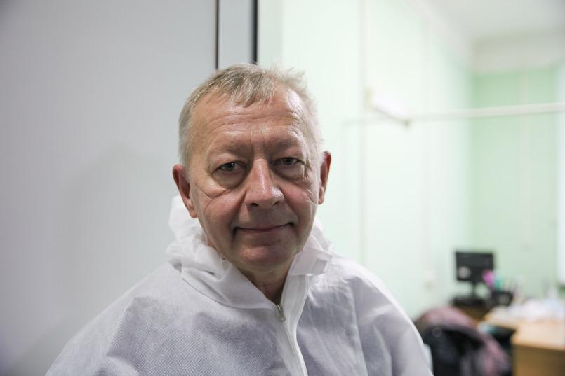 Владимир Горбачев, профессор, заведующий кафедрой анестезиологии и реаниматологии Иркутской академии последипломного образования