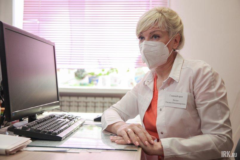 Оксана Вельм, главный врач Шелеховской районной больницы