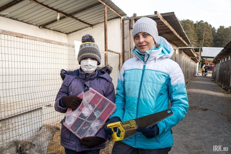 Наталья с сыном приехали из Ангарска