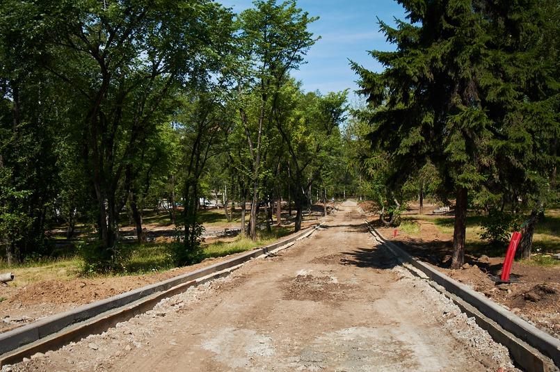 Благоустройство Лисихинского парка