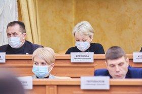 На заседании думы Иркутска 26 ноября. Фото Маргариты Романовой