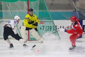 Красноярский «Енисей» разгромил иркутскую «Байкал-Энергию» в матче чемпионата России