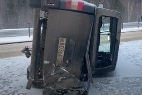 Водитель погиб при опрокидывании УАЗ «Патриот» в Ангарском районе