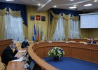 Заседание постоянной комиссии по экономической политике и бюджету думы Иркутска. Фото пресс-службы думы Иркутска