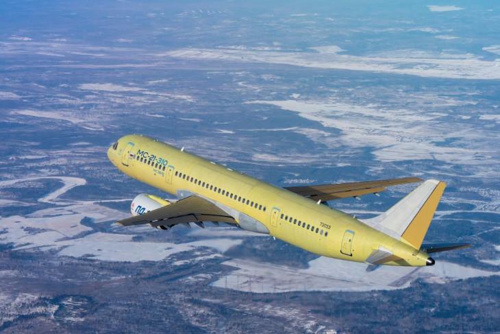 Самолет МС-21-310. Фото пресс-службы Корпорации «Иркут»