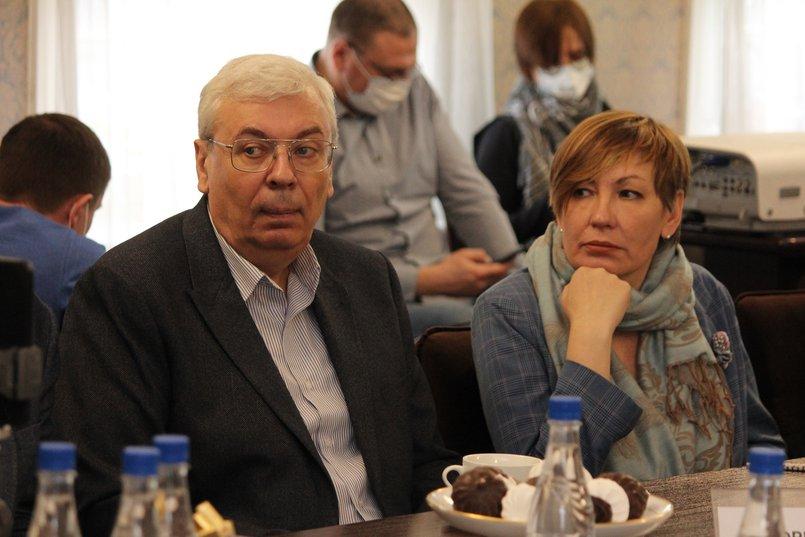 Константин Горбенко и Ольга Ринчинова (ВГТРК)