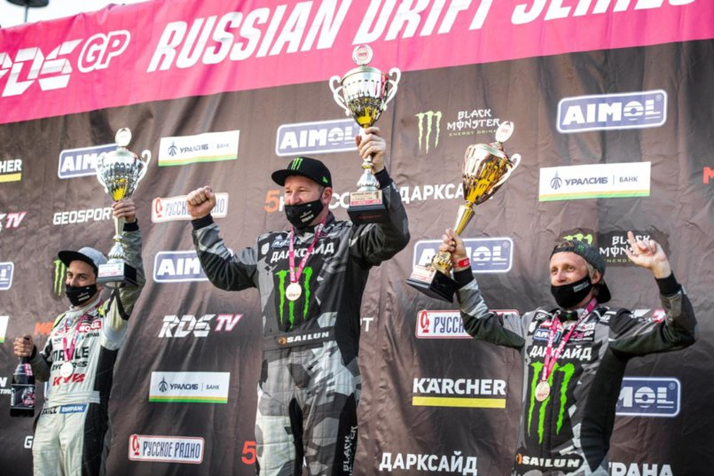 Евгений Лосев стал победителем шестого этапа «Гран При Российской Дрифт Серии» сезона 2020 в Сочи