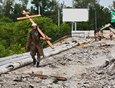 Отремонтировать мост обещали до 15 августа. Работы завершили досрочно.