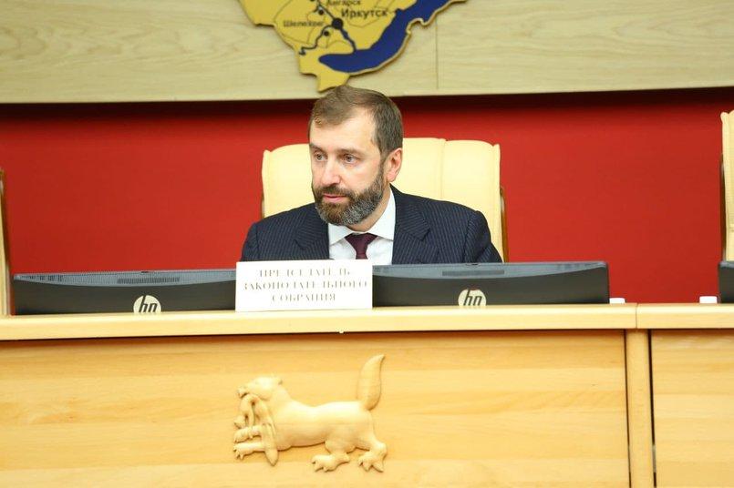Председатель Заксобрания Иркутской области Александр Ведерников