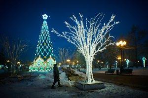 Иркутск готовится к Новому году