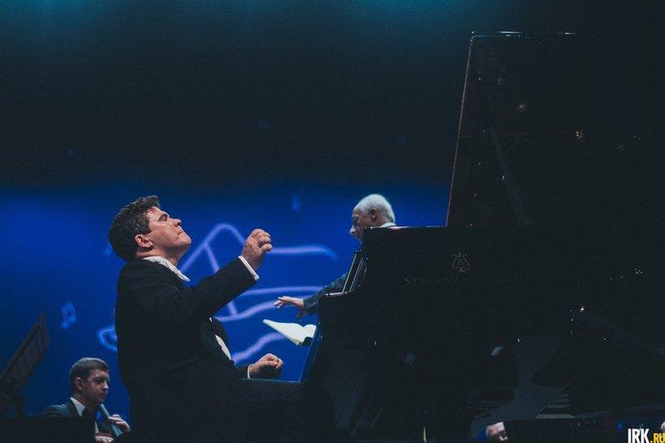 Денис Мацуев на фестивале «Звезды на Байкале» в 2018 году. Фото из архива IRK.ru