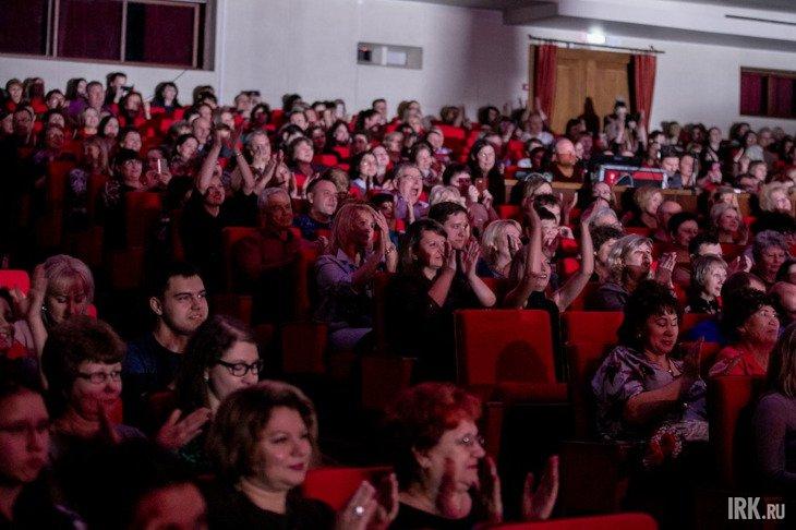 На концерте в Иркутском музыкальном театре. Фото Анастасии Влади, IRK.ru