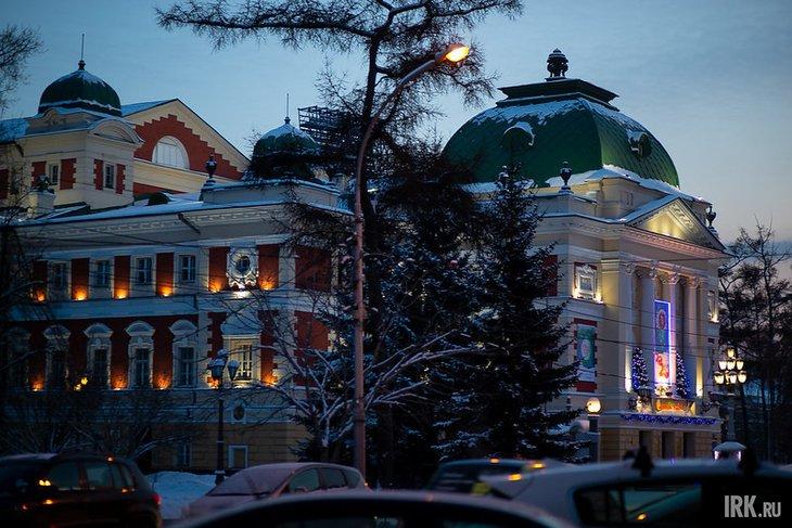 Иркутский драмтеатр. Фото Анастасии Влади, IRK.ru