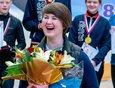 Заслуженный мастер России, участница двух Олимпийских игр, чемпионка Европы, многократная чемпионка России Ольга Жаркова