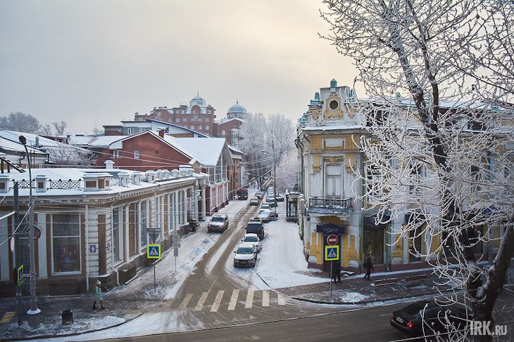 В Иркутске. Фото Маргариты Романовой, IRK.ru