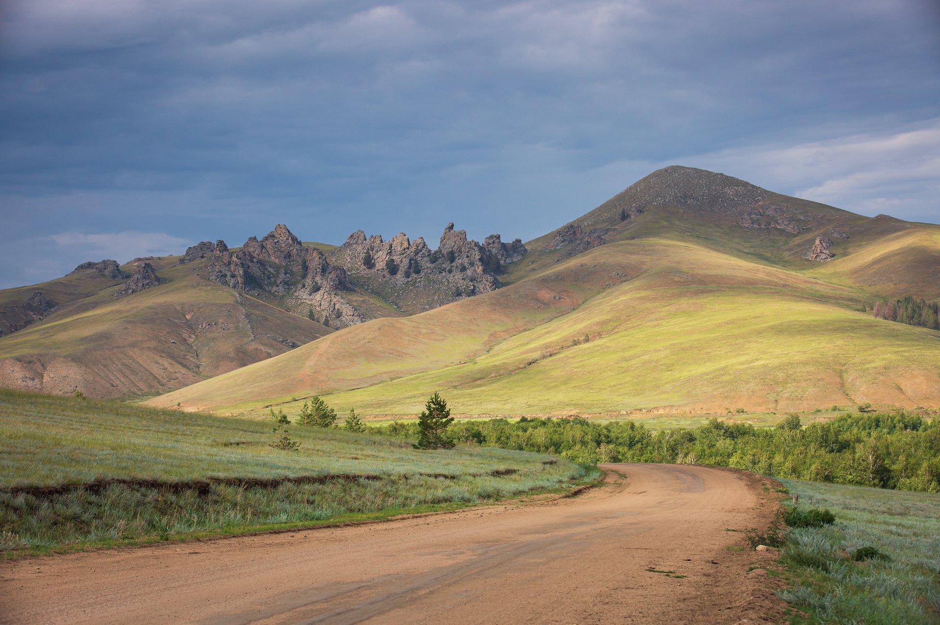 Дорога к селу  Суво